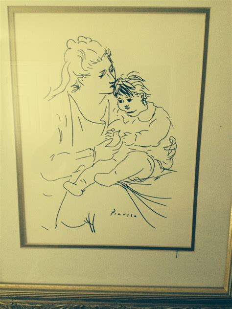 unseen picasso paintings found in garage picasso sketch i bought at a garage sale 10 years ago