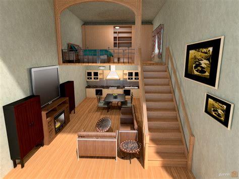 loft bedroom apartment ideas planner 5d