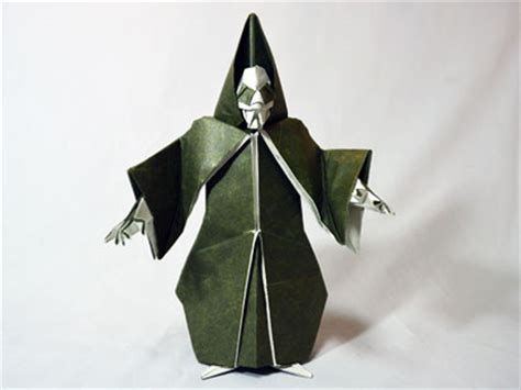how to make an origami person reaper