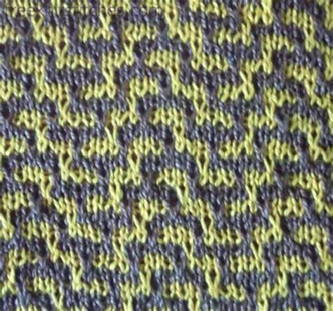 two colour knitting patterns free two color knitting pattern labyrinth