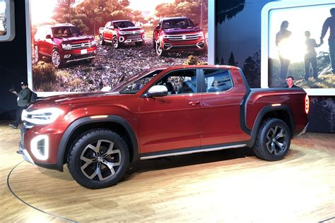 Volkswagen Truck by Vw S Atlas Truck Concept Is Real But Don T Get