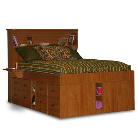 captains bed king size captains bed with drawers woodworking projects