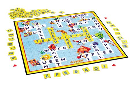 scrabble for children board for new center