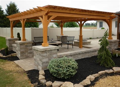 image of pergola pergolas and pavilions the barn raiser quality amish