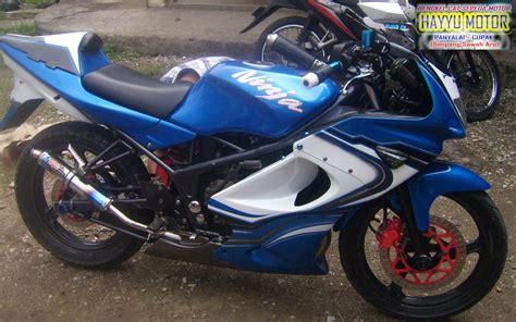 Warna Modifikasi Motor by Kumpulan Modifikasi Motor R Warna Biru Terbaru