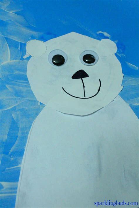 polar craft for polar craft for preschool simple polar craft