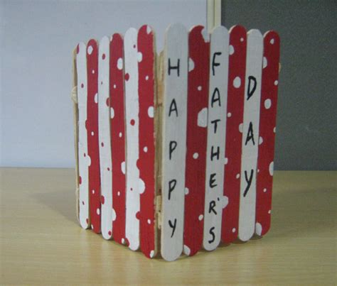 pen stand craft for pen pencil holder easy s day craft ideas