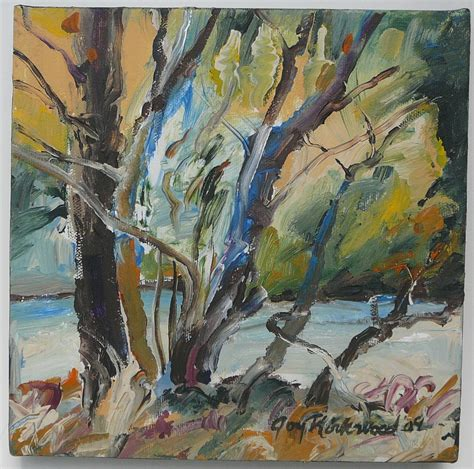 acrylic paint tree june 2010 by a kirkwood