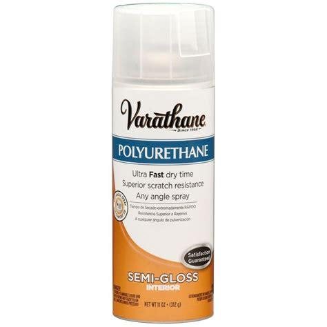 spray paint polyurethane varathane 11 oz poly semi gloss spray paint 6 pack