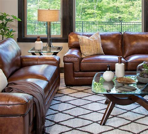 decorating a living room with brown leather furniture best 25 brown leather sofas ideas on living