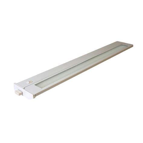 American Fluorescent Cabinet Lighting by American Lighting 96009 White 22 Quot 13 Watt 3000k Hardwire