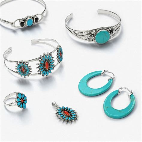 how to make turquoise jewelry 925 silver leaf flower simulated turquoise cuff bracelet