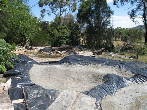building backyard pond triyae build a landscape pond various design