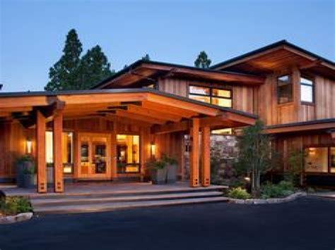 modern craftsman style house plans craftsman modern house
