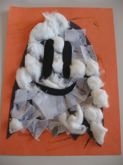 ghost craft for ghost crafts treats no time for flash cards