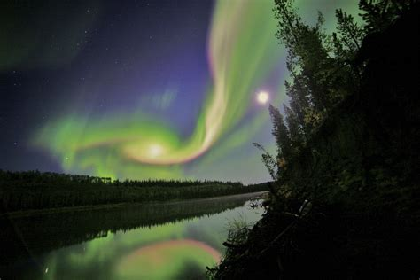 solar flares northern lights supermoon northern lights and solar flares september in