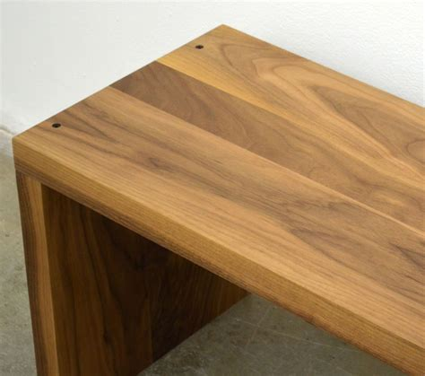 wood for woodworking custom made modern solid walnut wood bench by fabitecture