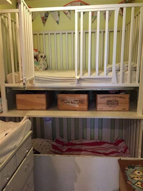 how to convert a crib into a bed bunk crib toddler bed in a small space with option to