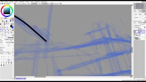 paint tool sai layer tutorial intro to paint tool sai linework vector layers