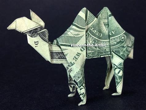 origami camel dollar bill origami camel made with a 1 bill designed