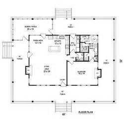 5 bedroom house plans with wrap around porch one bedroom 1 5 bath cabin with wrap around porch and