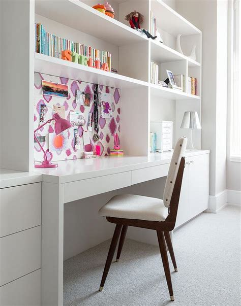 pin boards for rooms rooms white built in desk design ideas