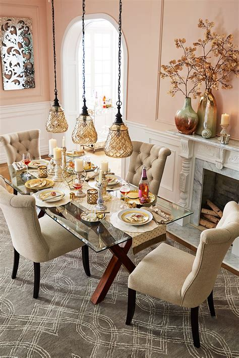 table top decor best 25 glass dining table ideas on glass