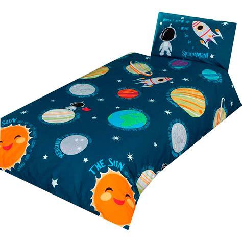 solar system bedding set solar system space bedding single junior duvet