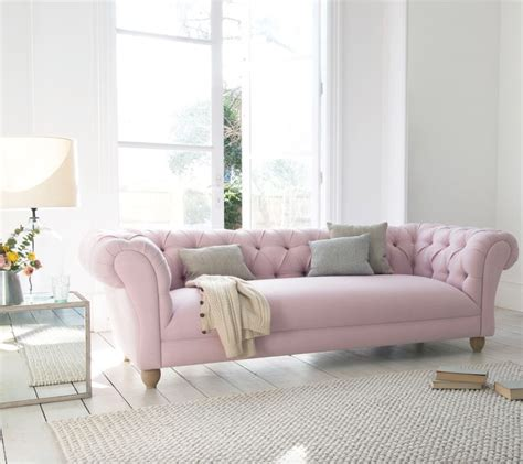pink chesterfield sofa best 25 pink sofa ideas on blush grey copper
