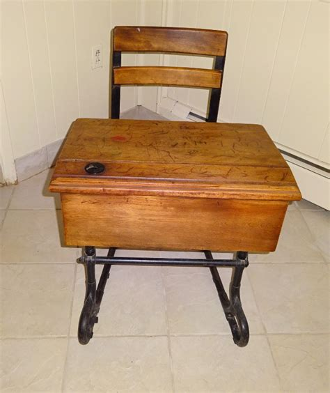 antique school desk antique school desk with inkwell