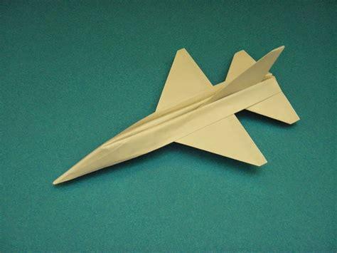 jet origami origami plane falcon easy origami for