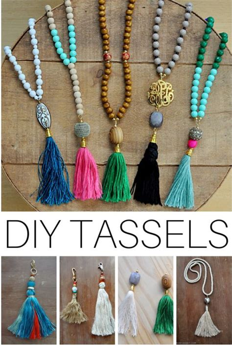how to make jewelry to sell 25 best ideas about tassel necklace on diy