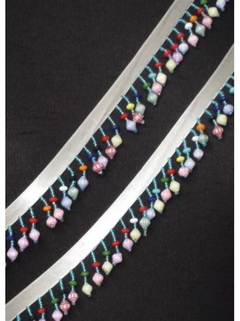 beaded trimmings uk rainbow beaded fringe trimming