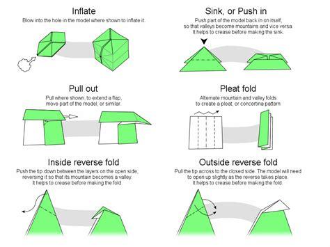 origami basic folds basic origami comot
