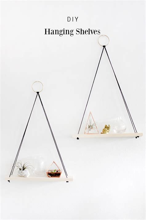 hanging wire shelves 25 best ideas about hanging shelves on diy