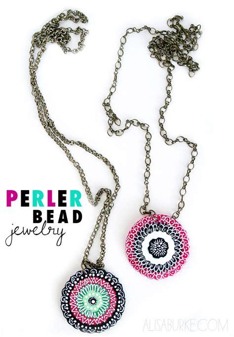 perler bead jewelry patterns alisaburke fashion friday perler bead jewelry