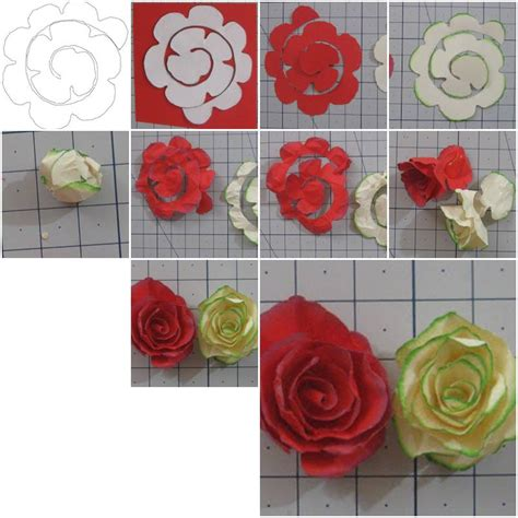 craft paper flowers roses how to make simple paper roses flowers step by step diy