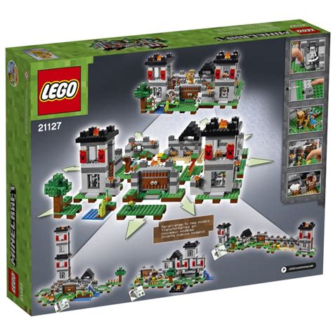 craft sets lego minecraft sets 21127 the fortress new