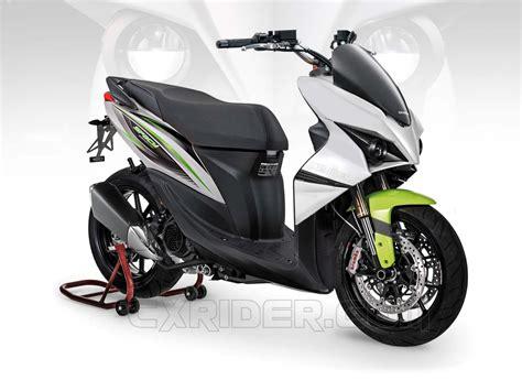 Modifikasi Matic Honda by Konsep Modifikasi Honda Spacy Ego Matic Cxrider