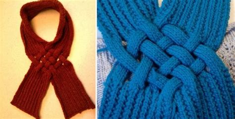 celtic knitting patterns free celtic knot knitted looped scarf free knitting pattern