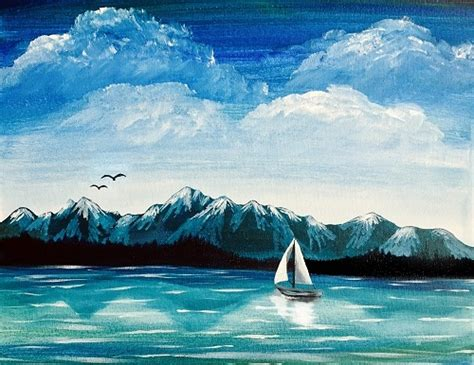 paint nite island locations paint nite olympic mountains sail