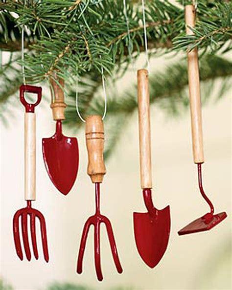 tool ornaments for tree garden tool tree ornaments buy from gardener s