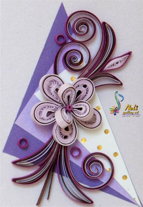 card with quilling neli quilling small card more quilling