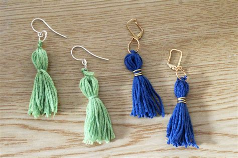 tassels for jewelry diy tassel earrings and crafters