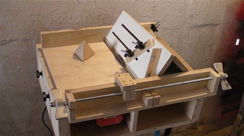 home made table saw sledge part 4 jig to build