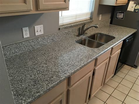 Install Bathroom Backsplash by Luna Pearl Granite Countertops Installation