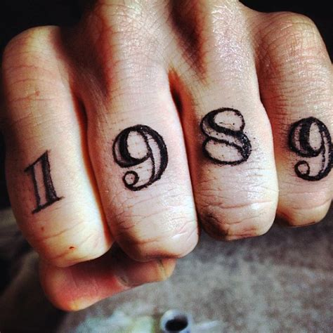 top 100 best knuckle tattoos for men a fist full of ideas
