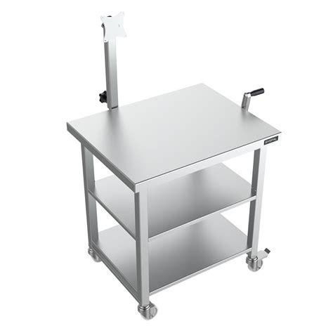 computer desk height height adjustable computer desk uk manufacturer syspal