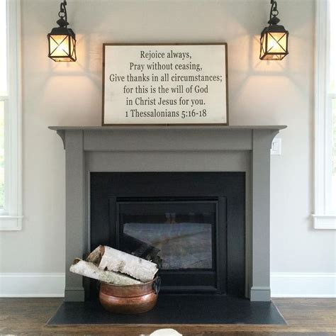 wall mantle best 25 painted mantle ideas on