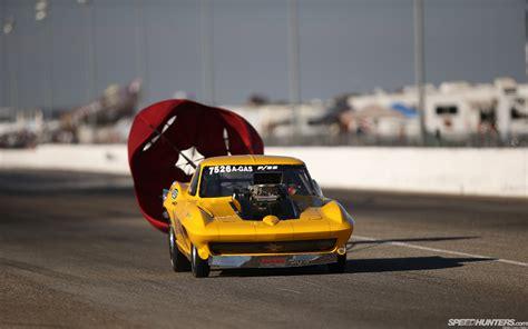 Drag Race Cars Wallpaper by Drag Race Parachute Race Car Drag Chevrolet Corvette